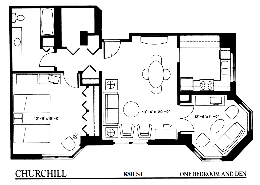 Senior Apartment Living With A Variety Of Features